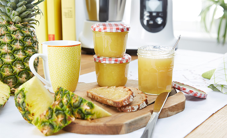 Ananas-Kokos-Marmelade