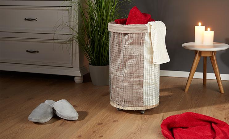 Wäschekorb selber machen